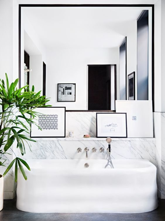Фотография:  в стиле , Ванная, Аксессуары, Советы, маленькая ванная – фото на InMyRoom.ru