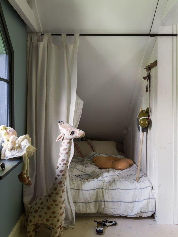 Фотография: Детская в стиле Скандинавский, Современный, Квартира, Советы, Минимализм, 40-60 метров – фото на INMYROOM