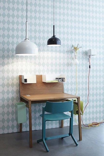 Фотография: Мебель и свет в стиле Лофт, Современный, Детская, Декор интерьера, Интерьер комнат, Обои – фото на INMYROOM