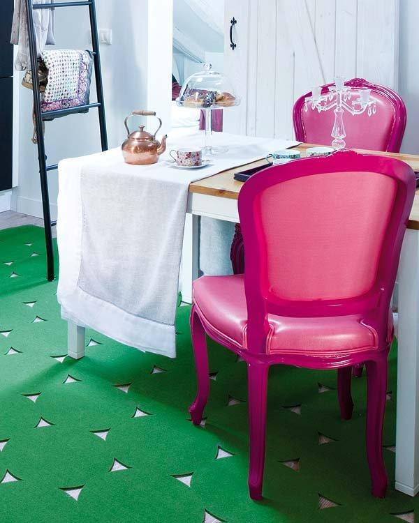 Фотография: Кухня и столовая в стиле Прованс и Кантри, Скандинавский, Современный, Декор интерьера, Квартира, Цвет в интерьере, Дома и квартиры, Белый, Пентхаус – фото на INMYROOM