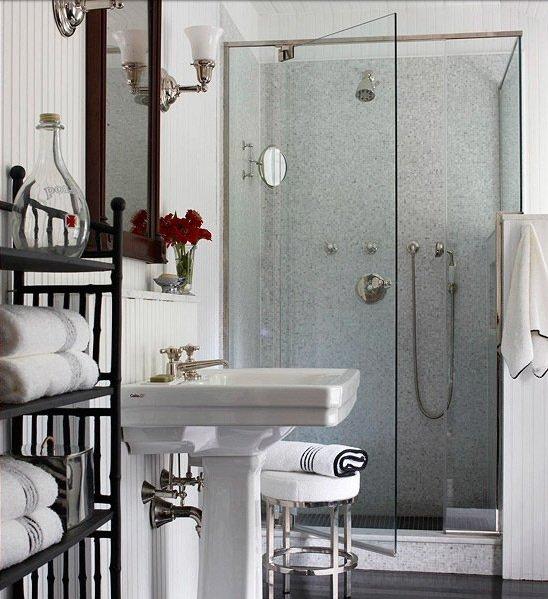 Фотография: Ванная в стиле Эклектика, Квартира, Дома и квартиры, Советы – фото на InMyRoom.ru