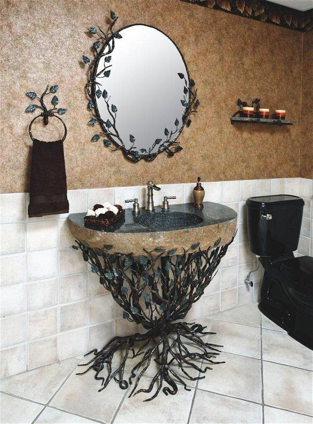 Фотография: Ванная в стиле Прованс и Кантри, Эклектика, Декор интерьера, Декор дома – фото на INMYROOM