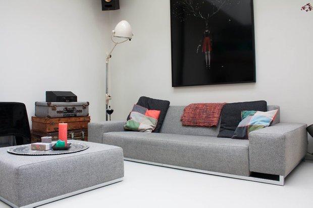 Фотография: Гостиная в стиле Лофт, Современный, Интерьер комнат – фото на INMYROOM
