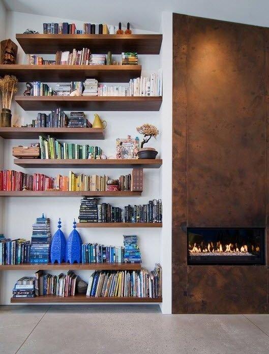 Фотография: Декор в стиле Лофт, Эклектика, Хранение, Стиль жизни, Советы, Библиотека – фото на INMYROOM