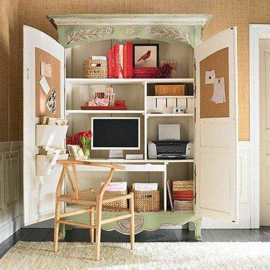Фотография: Офис в стиле Прованс и Кантри, Скандинавский, Хранение, Стиль жизни, Советы – фото на INMYROOM