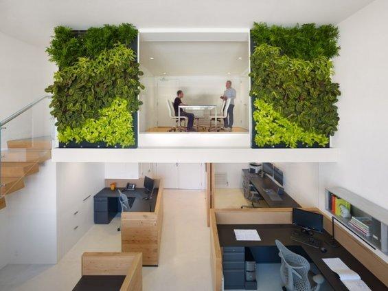 Фотография: Гостиная в стиле Современный, Хай-тек, Декор интерьера, Офисное пространство, Ландшафт, Стиль жизни – фото на INMYROOM