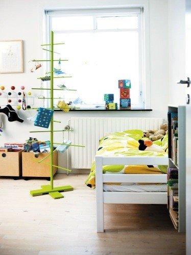 Фотография: Детская в стиле Скандинавский, Декор интерьера, Квартира, Аксессуары, Зеленый – фото на INMYROOM