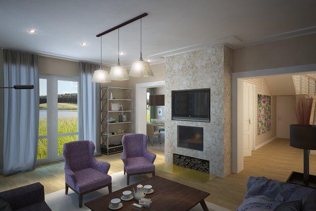 Фотография: Гостиная в стиле Скандинавский, Декор интерьера, Декор дома, Картины – фото на INMYROOM