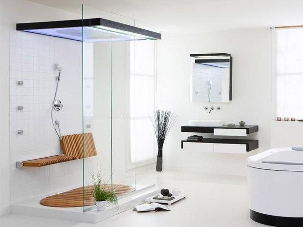 Фотография: Ванная в стиле Минимализм, Декор интерьера, Квартира, Дом – фото на INMYROOM