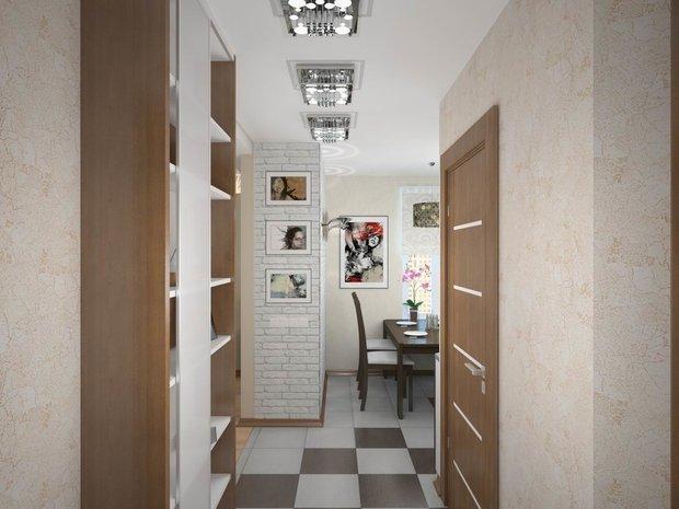 Фотография: Прихожая в стиле Современный, Кухня и столовая, Перепланировка, Finnish – фото на INMYROOM