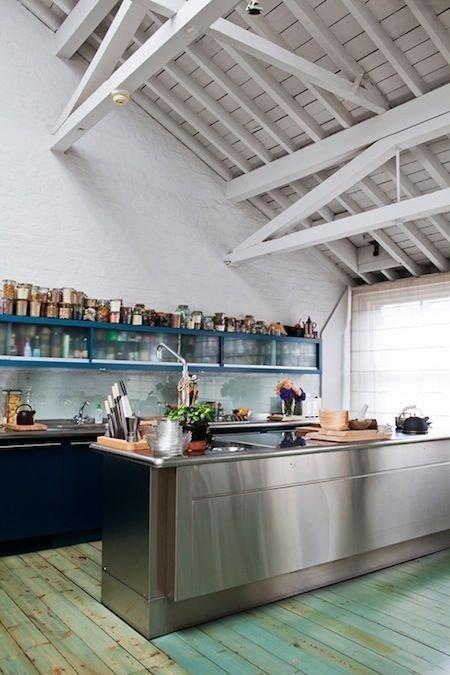 Фотография: Кухня и столовая в стиле Лофт, Декор интерьера, Декор дома, Пол – фото на INMYROOM