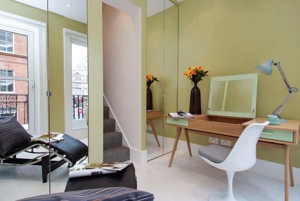 Фотография: Офис в стиле Современный, Декор интерьера, Малогабаритная квартира, Квартира, Дома и квартиры, Лондон, Квартиры – фото на INMYROOM