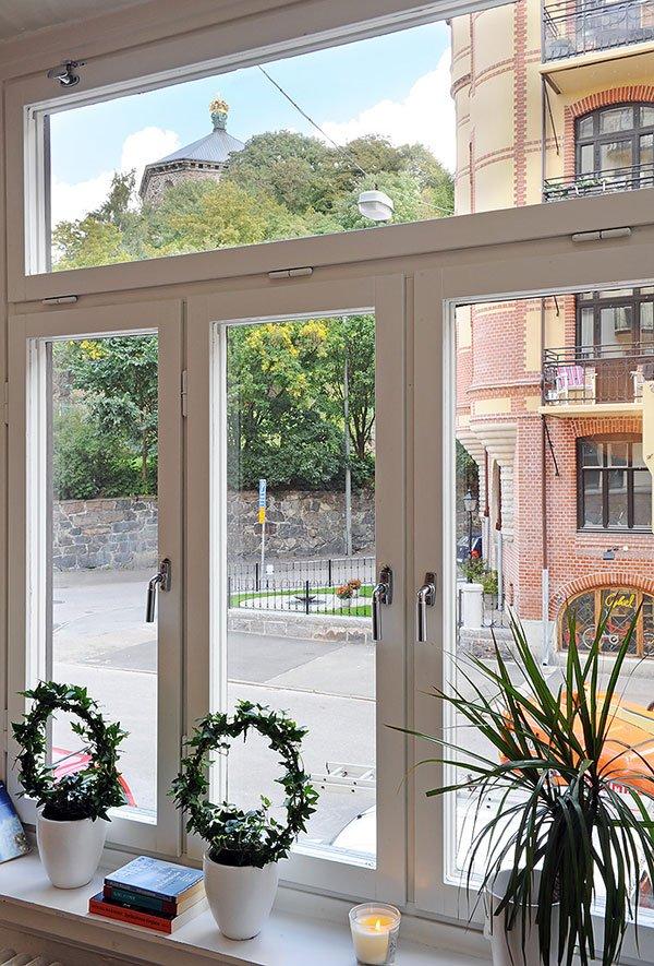 Фотография: Декор в стиле Скандинавский, Современный, Малогабаритная квартира, Квартира, Швеция, Мебель и свет, Дома и квартиры, Гетеборг – фото на INMYROOM