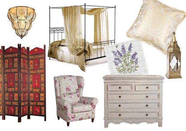 Фотография: Прочее в стиле , Спальня, Классический, Декор интерьера, Интерьер комнат, Прованс, Восток – фото на INMYROOM