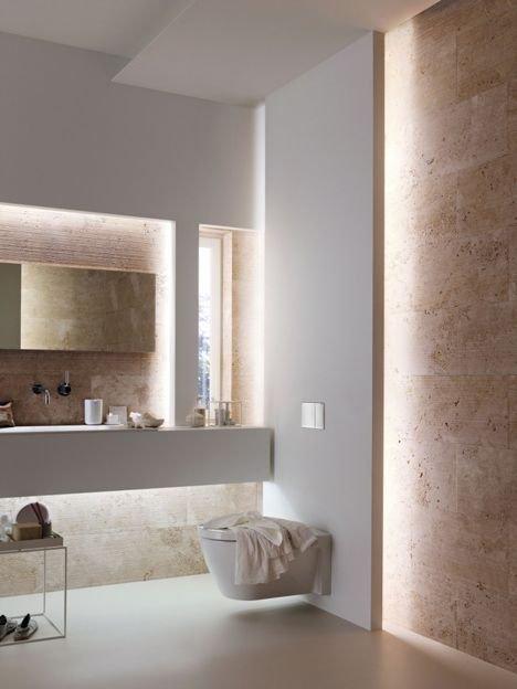 Фотография: Ванная в стиле Минимализм, Декор интерьера, Декор, Мебель и свет, освещение – фото на INMYROOM