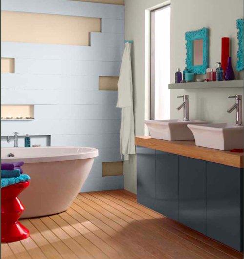 Фотография: Ванная в стиле Эклектика, Декор интерьера, Дизайн интерьера, Цвет в интерьере, Dulux, Akzonobel – фото на INMYROOM