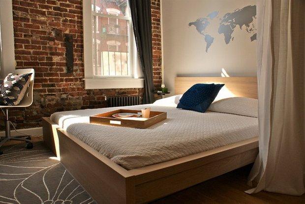 Фотография: Спальня в стиле Лофт, Интерьер комнат – фото на INMYROOM