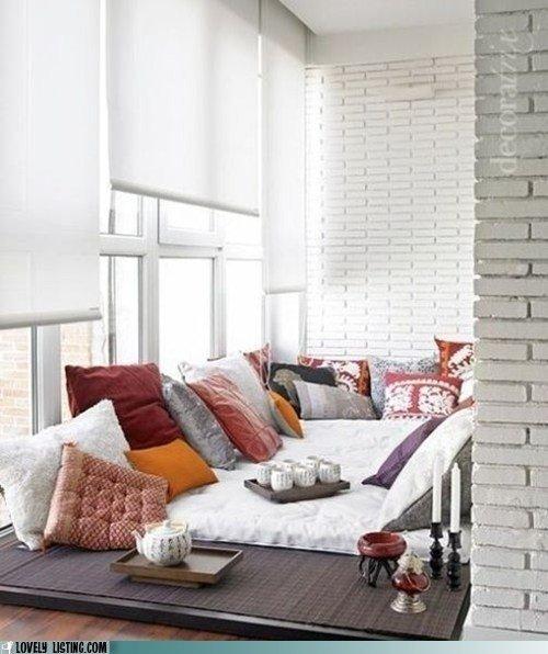 Фотография: Балкон, Терраса в стиле Восточный, Спальня, Интерьер комнат – фото на INMYROOM