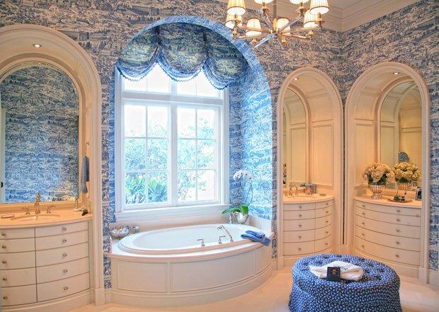 Фотография: Ванная в стиле Прованс и Кантри, Восточный, Интерьер комнат – фото на INMYROOM