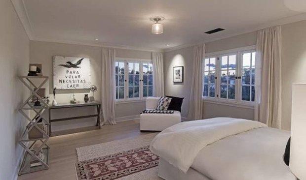 Фотография: Спальня в стиле Скандинавский, Современный, Дом, Дома и квартиры, Интерьеры звезд – фото на INMYROOM