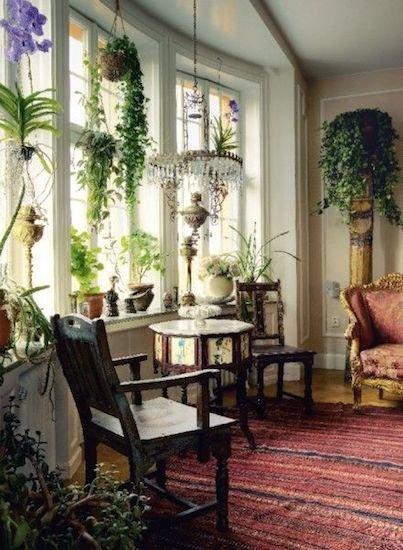 Фотография: Гостиная в стиле Прованс и Кантри, Восточный, Декор интерьера, Декор дома, Плетеная мебель – фото на INMYROOM