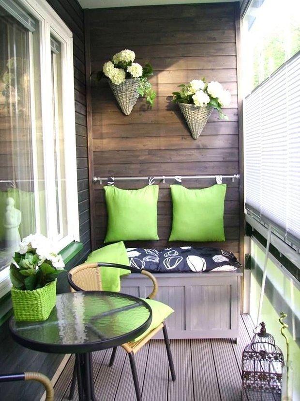 Фотография: Балкон в стиле Прованс и Кантри, Квартира, Советы, Ремонт на практике, как сделать косметический ремонт балкона, ремонт балкона – фото на INMYROOM