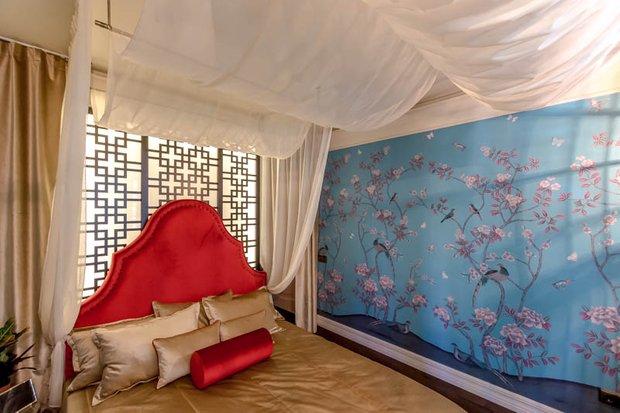 Фотография: Спальня в стиле Современный, Восточный, Декор интерьера, Интерьер комнат, Баухауз – фото на InMyRoom.ru