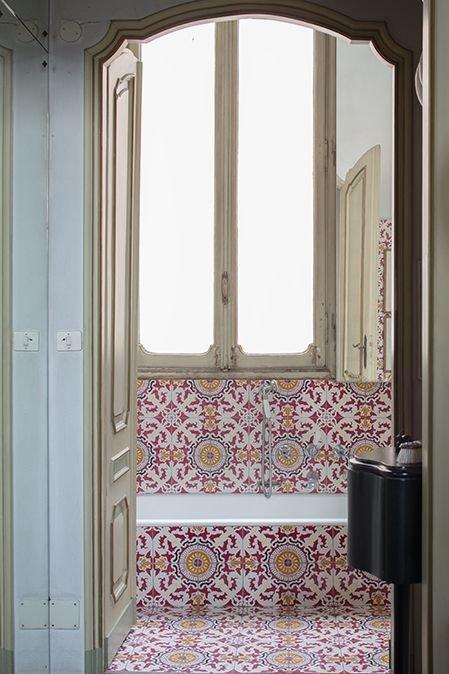 Фотография: Ванная в стиле Восточный, Декор интерьера, Декор дома, Плитка, Ремонт на практике – фото на INMYROOM
