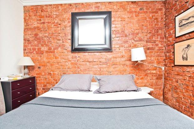 Фотография: Спальня в стиле Современный, Квартира, Дома и квартиры, Перепланировка, Ремонт, Стена – фото на INMYROOM