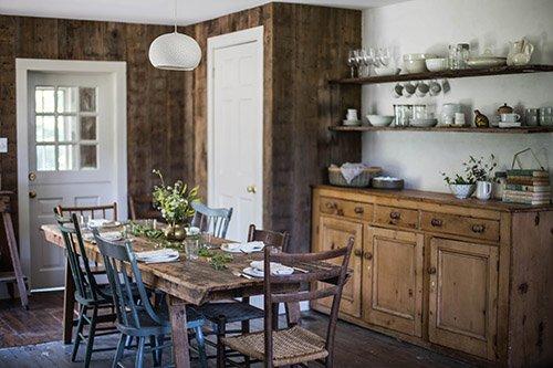 Фотография: Кухня и столовая в стиле Прованс и Кантри, Эко, Дом, Переделка, Дом и дача – фото на INMYROOM