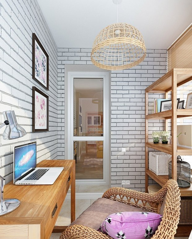 Фотография: Офис в стиле Прованс и Кантри, Современный, Балкон, Интерьер комнат, Минимализм – фото на INMYROOM