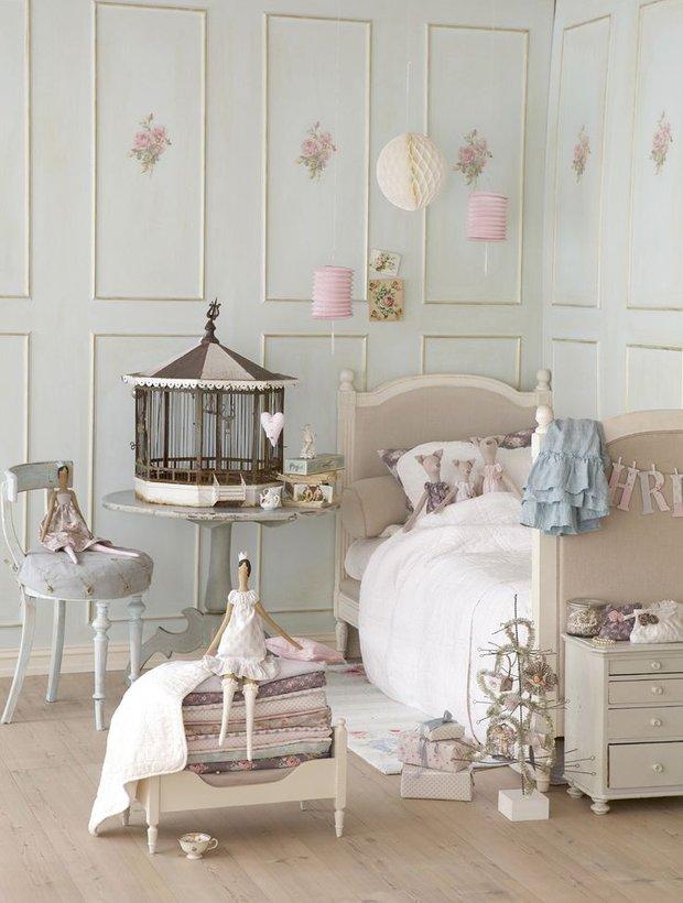 Фотография: Детская в стиле Прованс и Кантри, Декор интерьера, Декор дома, Шебби-шик – фото на INMYROOM