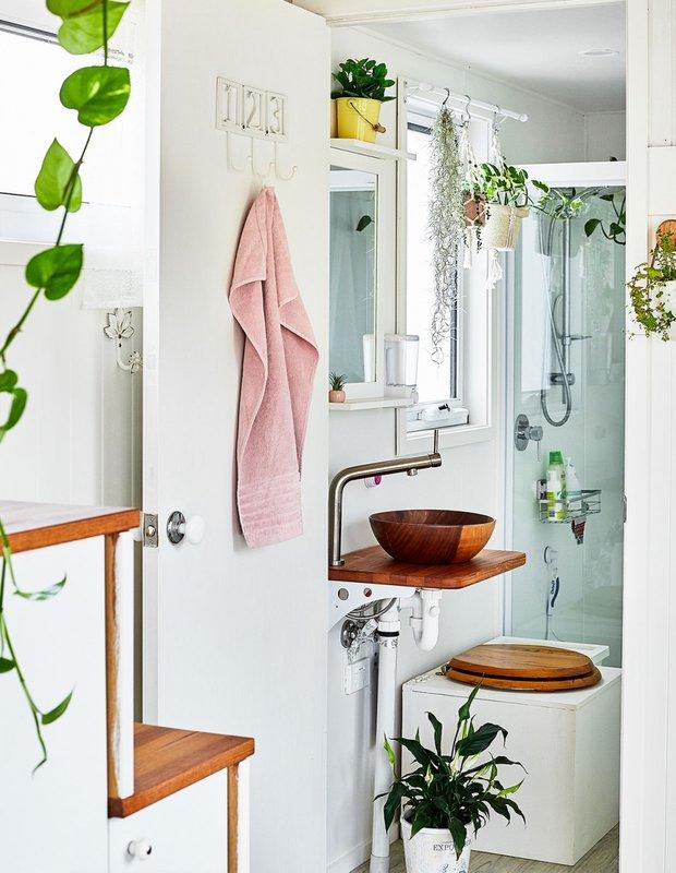 Фотография: Ванная в стиле Скандинавский, Дом, Австралия, Дом и дача, 2 комнаты, до 40 метров – фото на INMYROOM