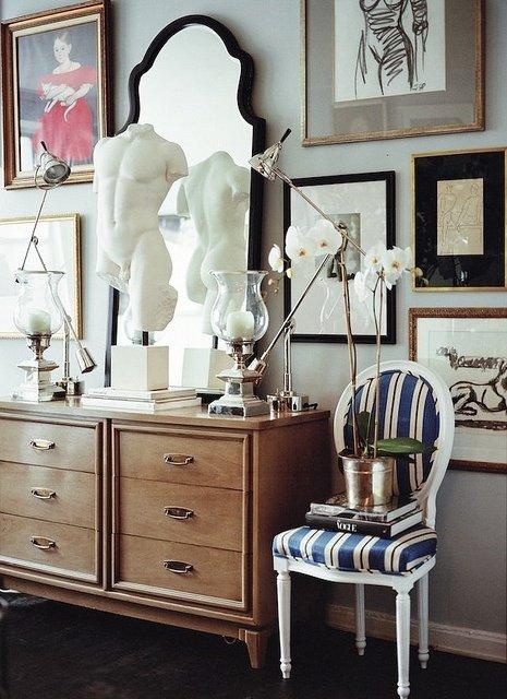 Фотография: Декор в стиле Эклектика, Декор интерьера, Дом, Декор дома, Цвет в интерьере – фото на INMYROOM