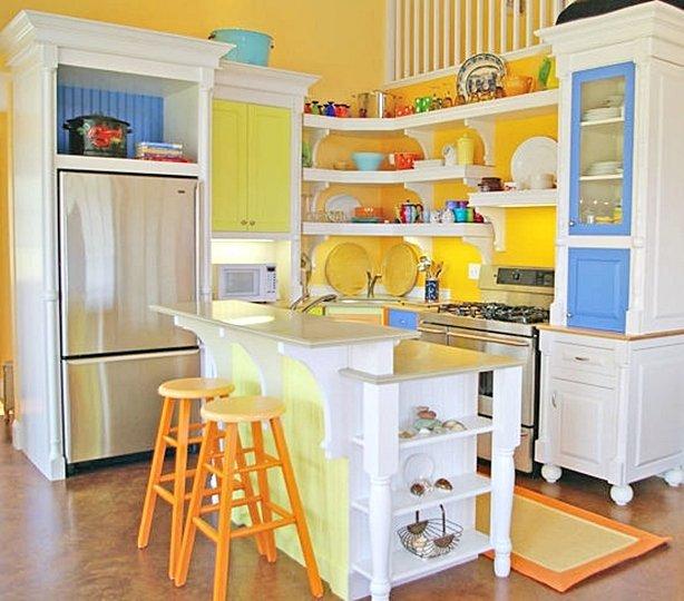 Фотография: Кухня и столовая в стиле Прованс и Кантри, Современный, Интерьер комнат, Тема месяца – фото на INMYROOM