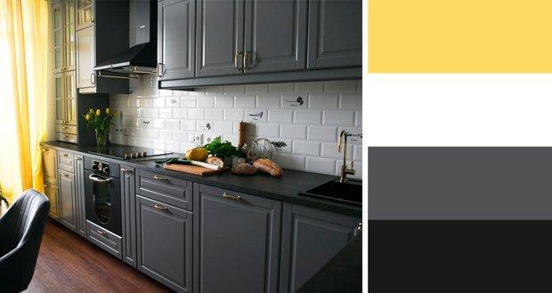 Фотография:  в стиле , Кухня и столовая, Советы, цветовые сочетания – фото на INMYROOM