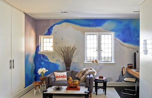 Фотография: Гостиная в стиле Лофт, Декор интерьера, Декор дома, Стена – фото на INMYROOM