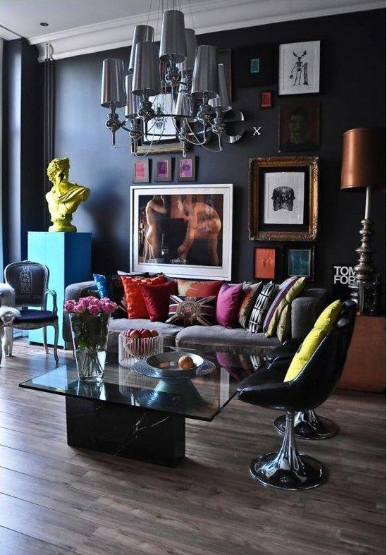 Фотография: Гостиная в стиле Эклектика, Декор интерьера, Декор дома – фото на INMYROOM