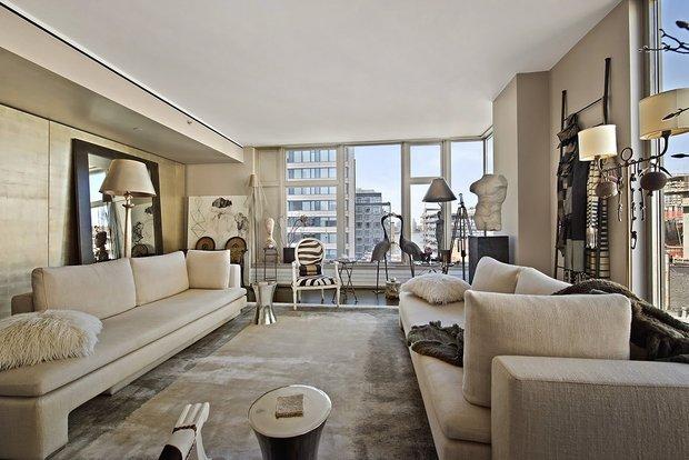 Фотография: Гостиная в стиле Современный, Декор интерьера, Квартира, Дома и квартиры, Нью-Йорк – фото на INMYROOM