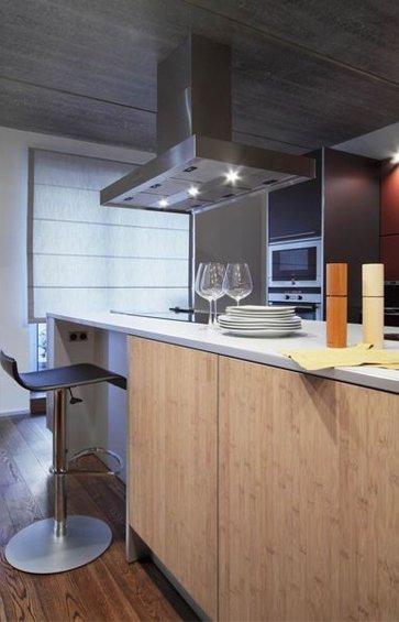 Фотография: Кухня и столовая в стиле Лофт, Квартира, Дома и квартиры, Минимализм, Градиз – фото на INMYROOM