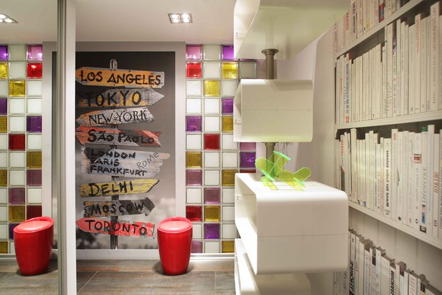 Фотография: Декор в стиле Лофт, Современный, Эклектика, Квартира, Проект недели – фото на INMYROOM