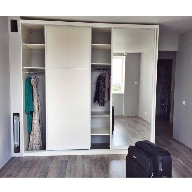 Фотография:  в стиле , Спальня, Ремонт на практике, 40-60 метров – фото на INMYROOM