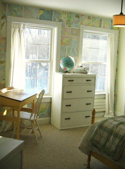 Фотография: Детская в стиле Прованс и Кантри, Декор интерьера, Декор дома, Цвет в интерьере, Обои – фото на INMYROOM