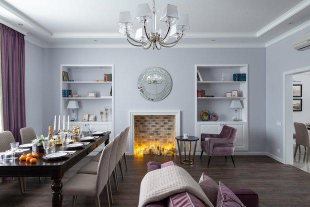 Фотография: Кухня и столовая в стиле Классический, Декор интерьера, Камин, фальшкамин в интерьере, как сделать декоративный камин – фото на INMYROOM
