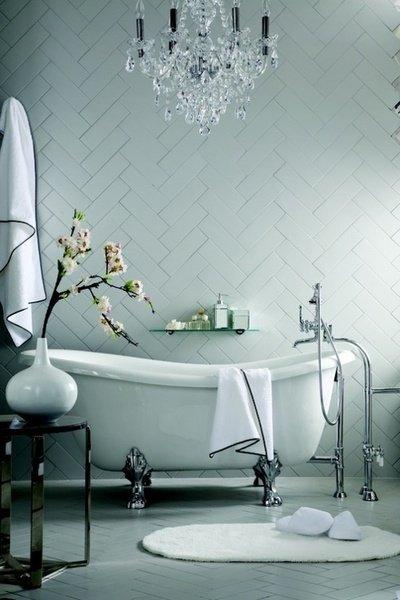 Фотография: Ванная в стиле Классический, Интерьер комнат, Ванна – фото на INMYROOM