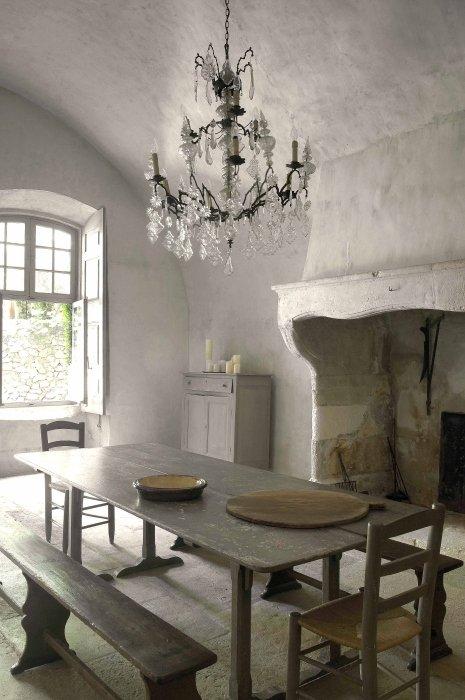 Фотография: Кухня и столовая в стиле Классический, Декор интерьера, Дом, Дома и квартиры, Прованс, Замок – фото на INMYROOM