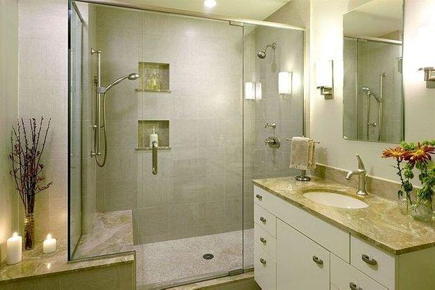 Фотография: Ванная в стиле Классический, Декор интерьера, Малогабаритная квартира, Квартира, Дома и квартиры – фото на INMYROOM