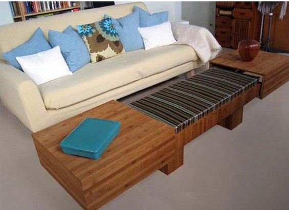 Фотография:  в стиле , Декор интерьера, Малогабаритная квартира, Мебель и свет, Мебель-трансформер – фото на INMYROOM