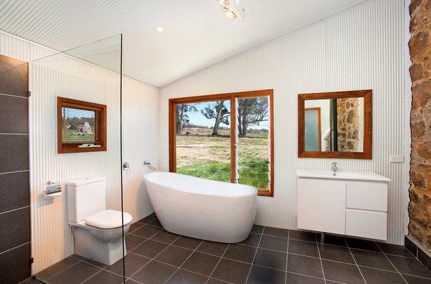 Фотография: Ванная в стиле Современный, Дом, Австралия, Дома и квартиры – фото на INMYROOM