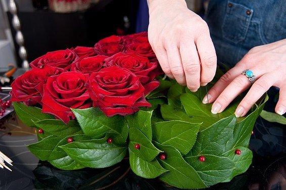 Фотография:  в стиле , DIY, Флористика, Праздник, Стиль жизни, День святого Валентина – фото на InMyRoom.ru